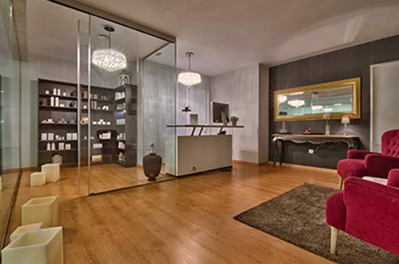 SenseCare salón del hotel de cinco estrellas Baobab Suites en Tenerife
