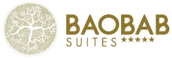 Logo Baobab Suites luxury hotel in Tenerife south, Costa Adeje.