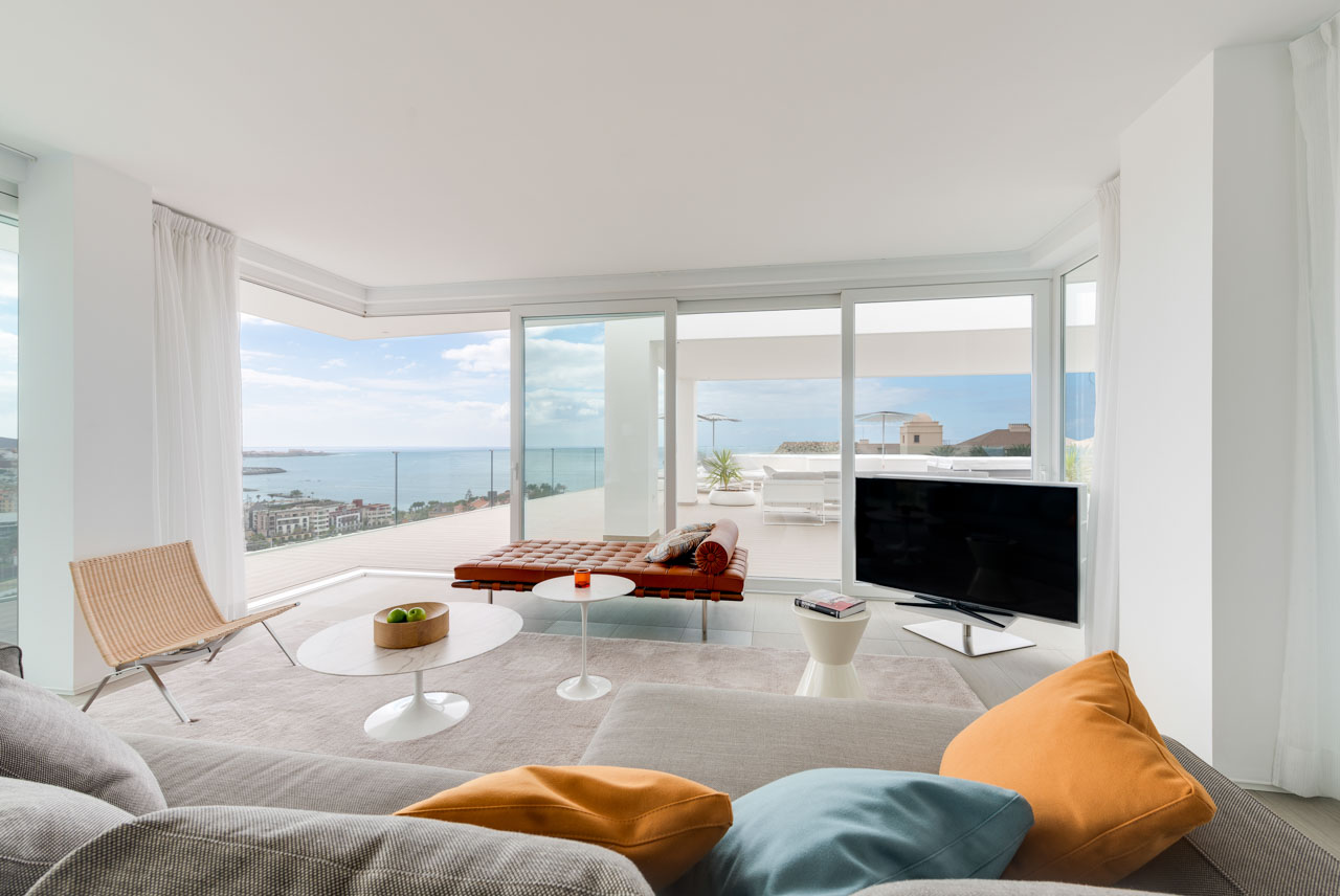 Euphoria Suite - Sala de estar & Terraza