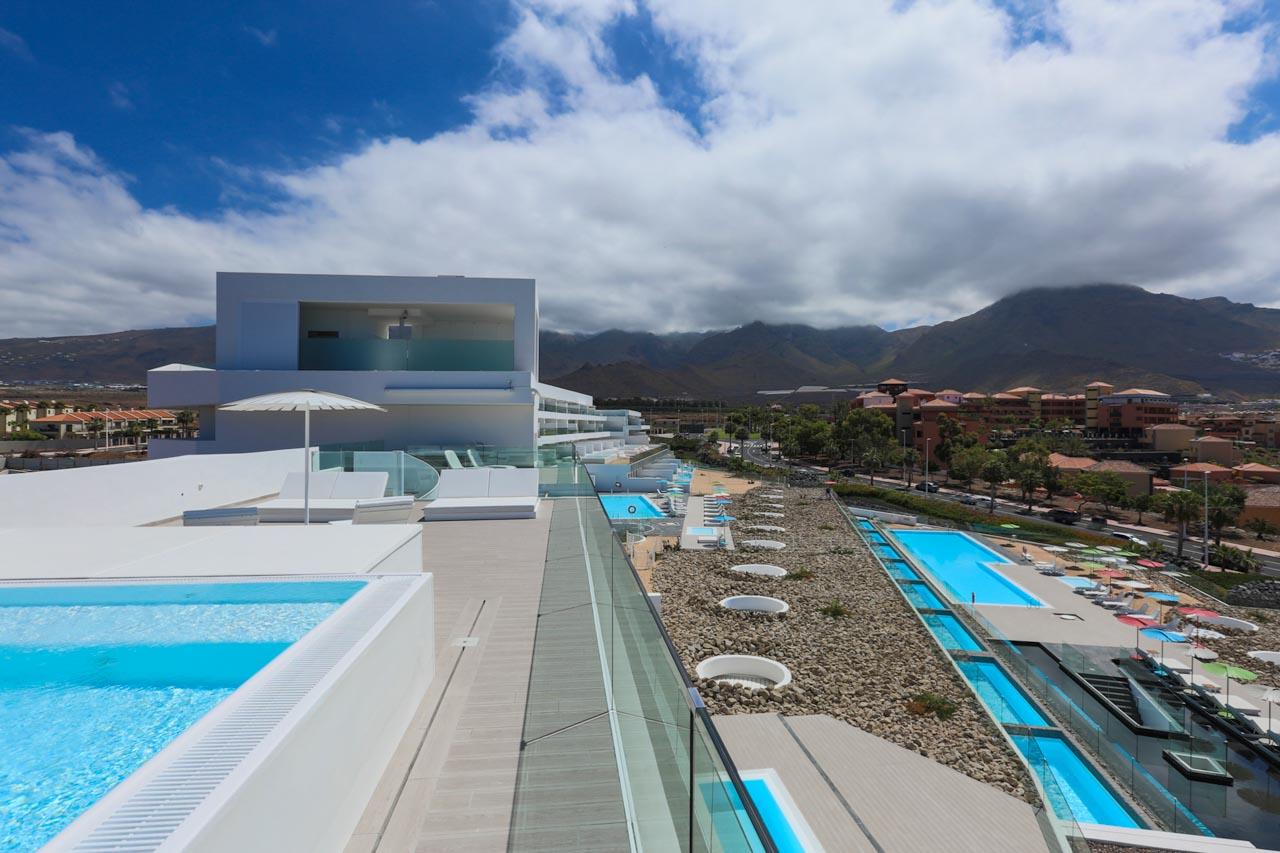 Indulgence Suite - Vista aérea Terraza