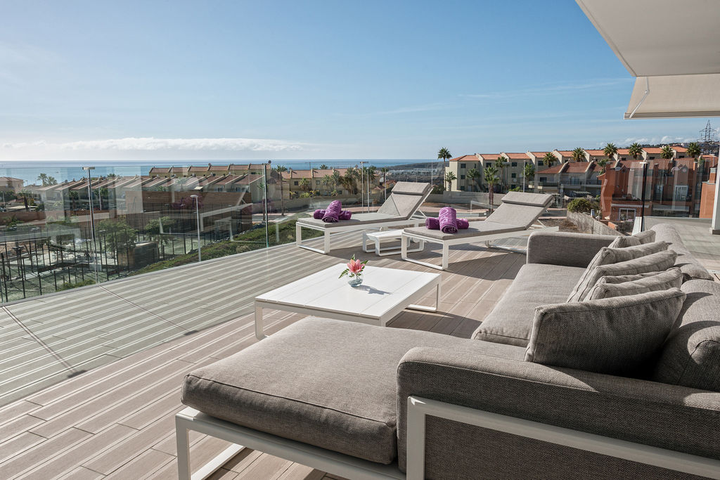 Luxury Indulgence Suite - Terraza