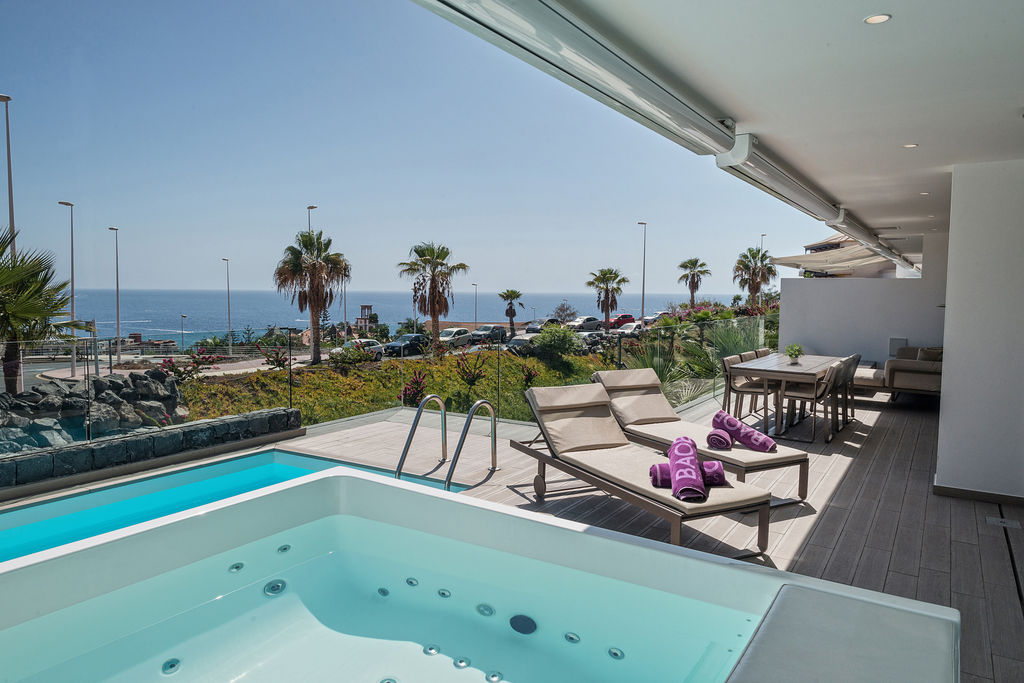 Vitality Mar - Terraza, Jacuzzi, Piscina privada.