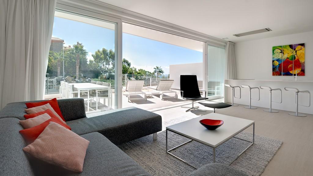 Serenity Suite - Sala de estar & Terraza