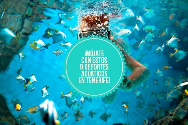 Enjoy all the waters sport in Tenerife