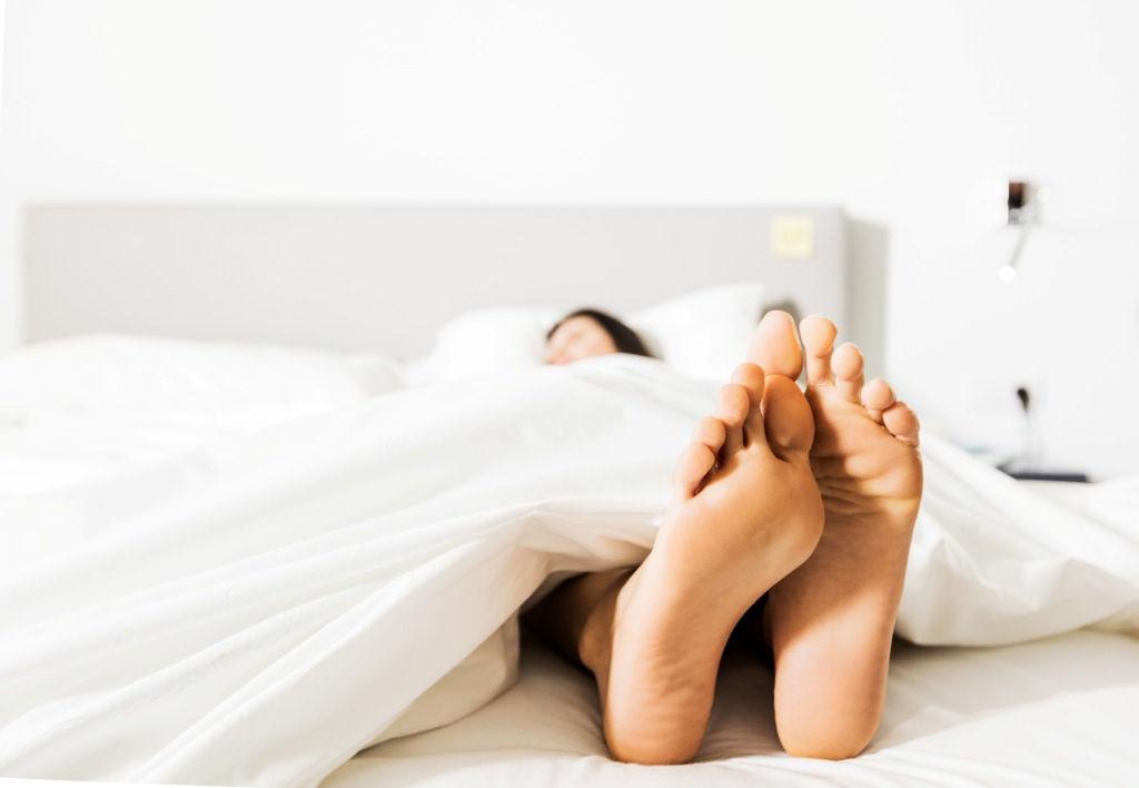 cama pies - Un viaje por los sentidos en Baobab