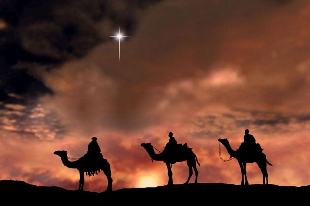 Here come the Three Kings!