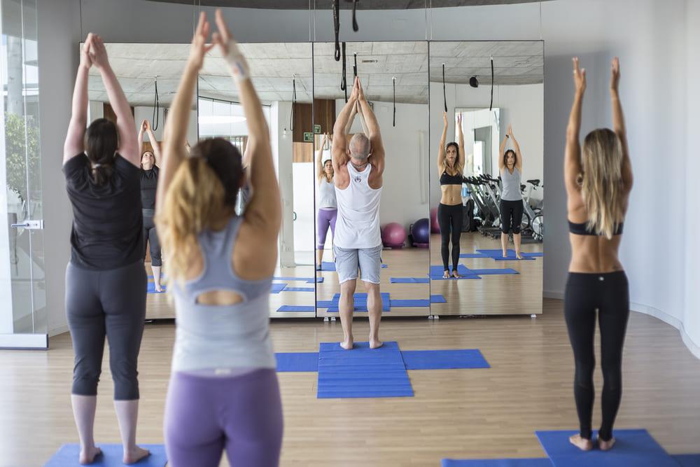 clases grupales activate gym - Hotel 5 estrellas con gimnasio en Tenerife
