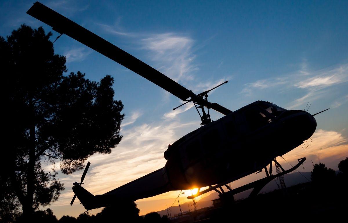 Tenerife helicóptero