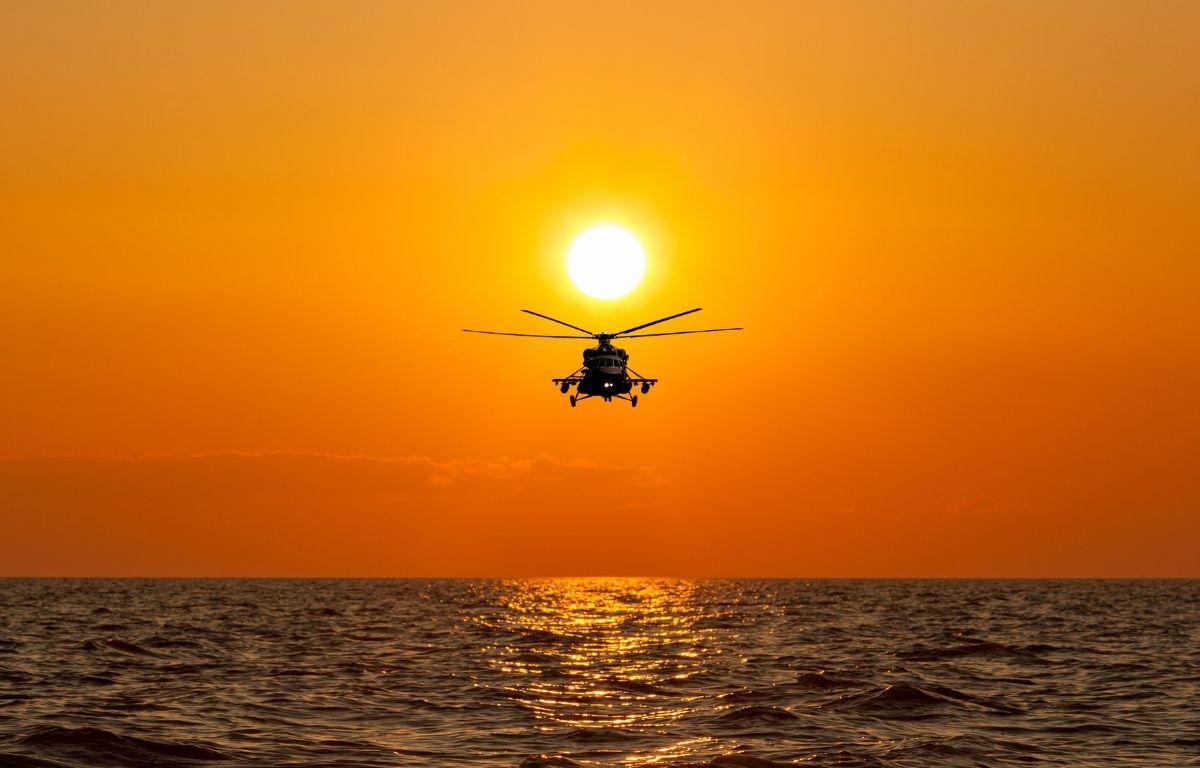 helicóptero Tenerife